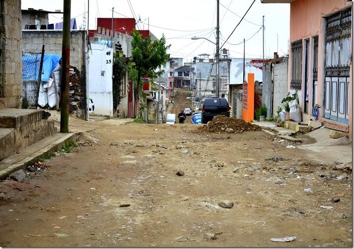 Calle Papalotl Col. Moctezuma