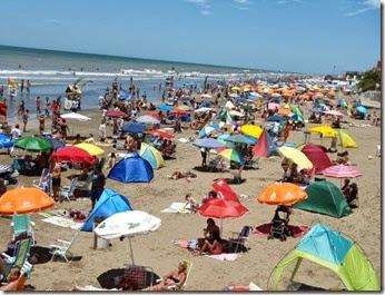 Más de un millón de turistas vistaron la costa desde el mes de diciembre