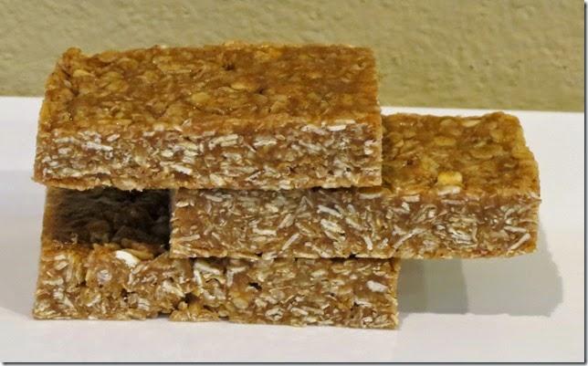 Gluten Free Snickerdoodle Granola Bars 2