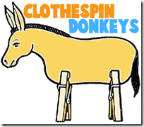 clothespin-donkeys