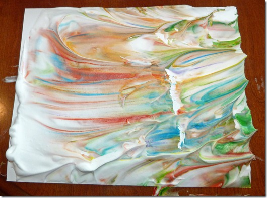Marbleized Painting 4