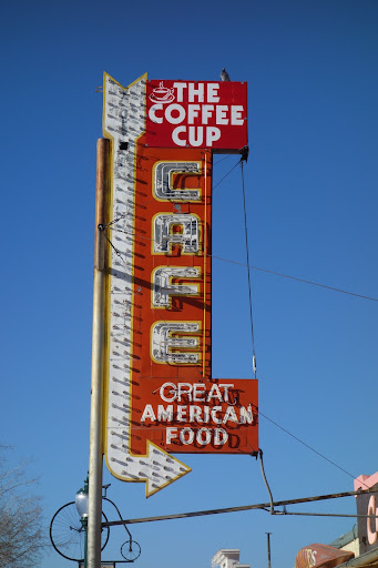 After visiting the Hoover Dam, we stopped for breakfast at the Coffee Cup Cafe in Boulder City, NV.