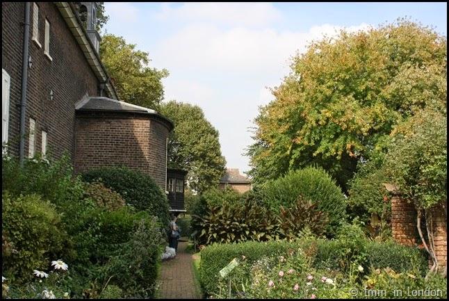 Geffrye Museum - gardens