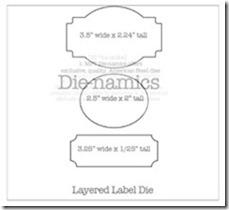 layered label Die-namicsSMALL