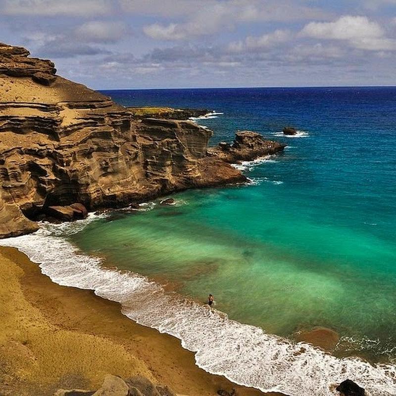 Papakolea, The Green Sand Beach