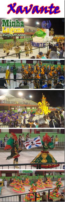 Desfile Xavante Carnaval 2012 Laguna