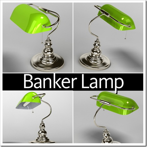 bankers lamp