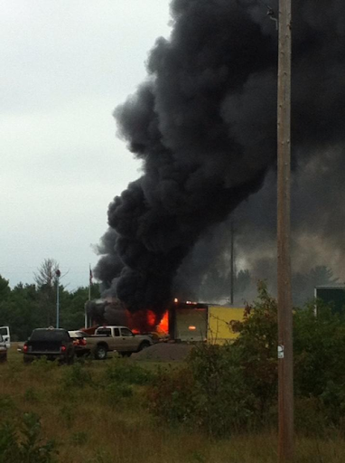 Gordon FD fire not my picture