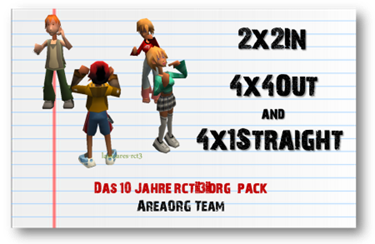 2x2In, 4x4Out e 4x1Straight  (10 Jahre rct-3.org da AreaORG Team) lassoares-rct3