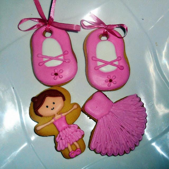 ballerina theme cookies