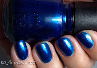 China Glaze Blue Year's Eve 5