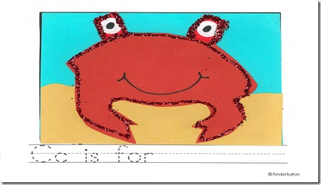 Pages from ABC ART crab