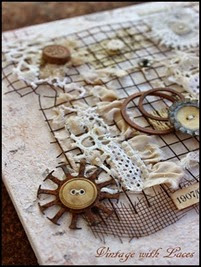 For the love of lace and rust