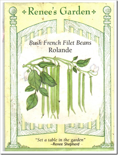 french filet beans