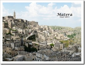【Italy♦義大利】Matera 馬泰拉 - 史詩般的磅礡古城, 受難記的拍攝場景