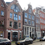 liening buildings in Amsterdam in Amsterdam, Noord Holland, Netherlands