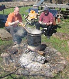Auf dem Feuer gekocht - Linsensuppe
