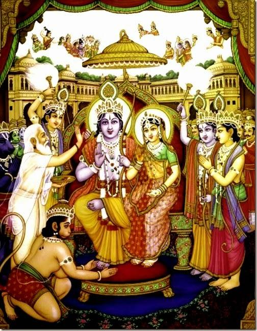 [Rama's coronation]
