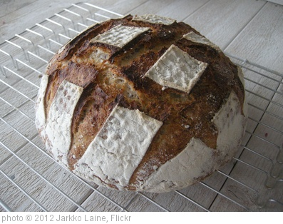 'Sourdough bread' photo (c) 2012, Jarkko Laine - license: http://creativecommons.org/licenses/by/2.0/