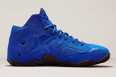 nike lebron 11 nsw sportswear ext blue suede 5 03 Nike LeBron XI EXT Blue Suede Drops on April 10th for $200