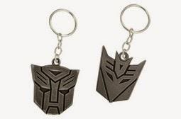 Chaveiros do ovo de páscoa Transformers - 2015