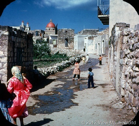 View-Master Modern Israel (B224), Scene 18: Village Street of Cana
