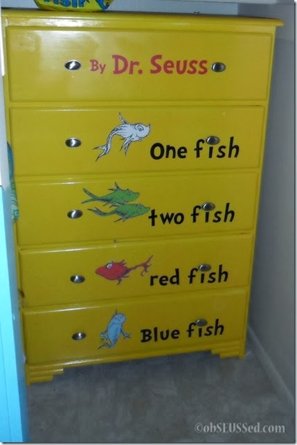One Fish Seuss Dresser by obSEUSSed