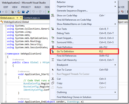 GoToDefinitionVisualStudio2012