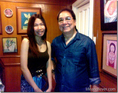 Stef dela Cruz and Joey de Leon