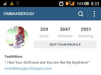 Happy 3K Follower on Instagram