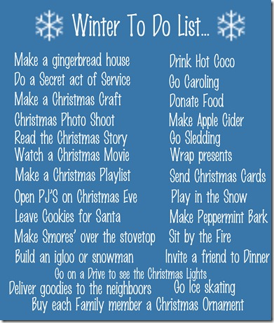 Winter to do List copy