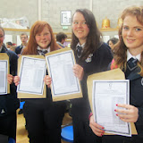 Emma Carton. Hannah Mc Laughlin. Lauren Forrest and Aine Green.JPG