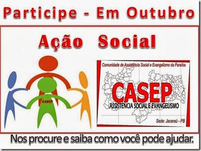 ação social outubro