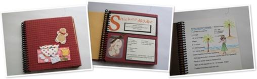 View Christmas Scrapbook Cookie Recipe Scrapbook