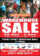 World of Sports Warehouse Sale Branded Shopping Save Money EverydayOnSales