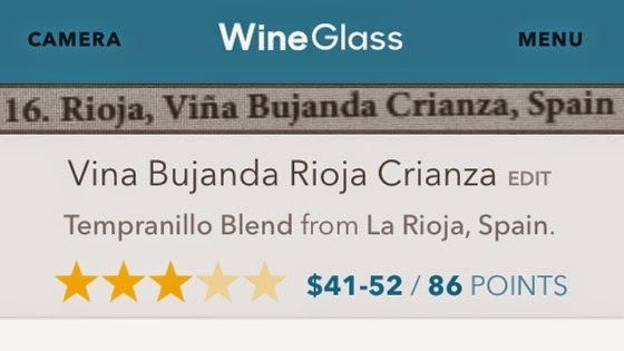 WineGlass Uses Your iPhone's Camera to Rate Wines via Lifehacker