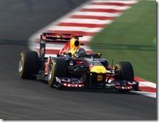 Vettel conquista la pole nel gran premio d'India 2011