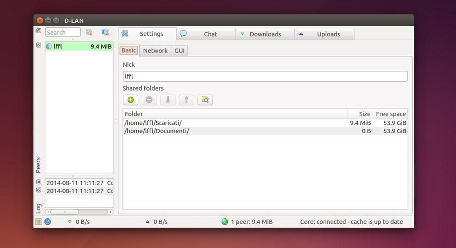 D-LAN in Ubuntu