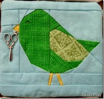Green bird for me!