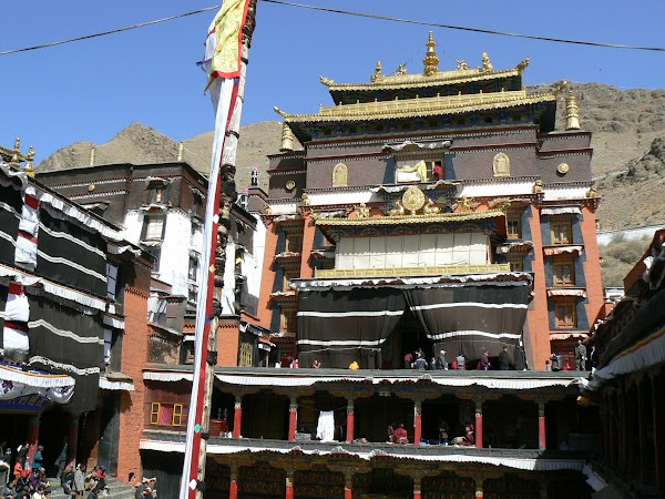 Obiective turistice Tibet: Manastirea Tashilhunpo, Shigatse