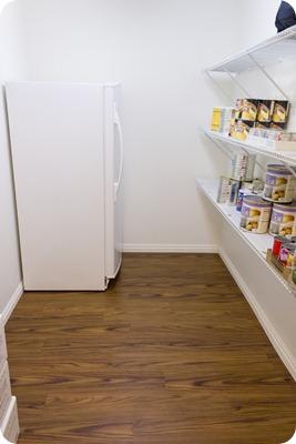 Food Storage Room After