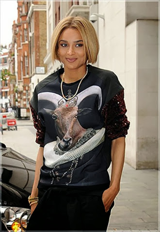 Ciara-arrives-at-Radio-1