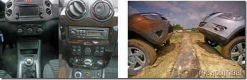 Dacia Duster vs VW Tiguan 05