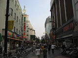 One of the main streets in Asakusa - it's one of the oldest districts of Tokyo