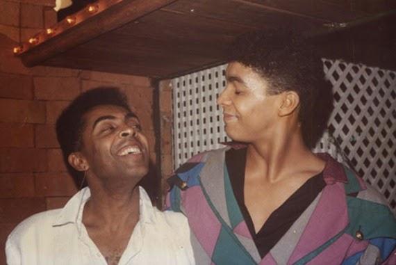 Gilberto Gil con il figlio Pedro