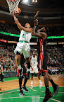 lebron james nba 130127 mia at bos 05 Boston Outlasts Miami in 2nd OT. LeBron Debuts Suede X PE!