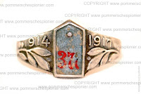 Prussian Patriotic ring of Inf. Reg. Nr. 377