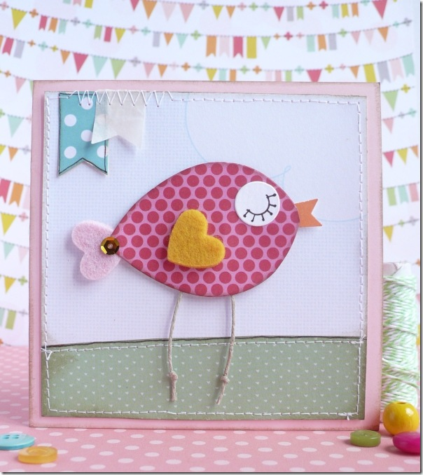 Anna Drai - big shot - card - easter - pasqua - tutorial (2)