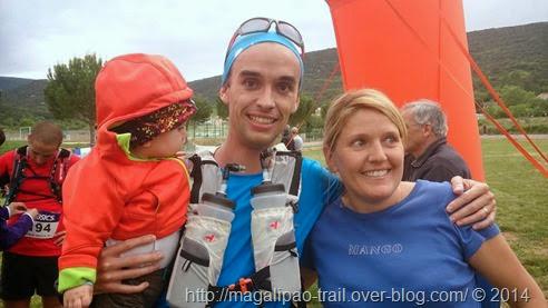 Trail en famille
