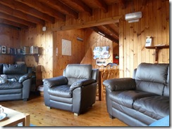 new furniture in the lodge